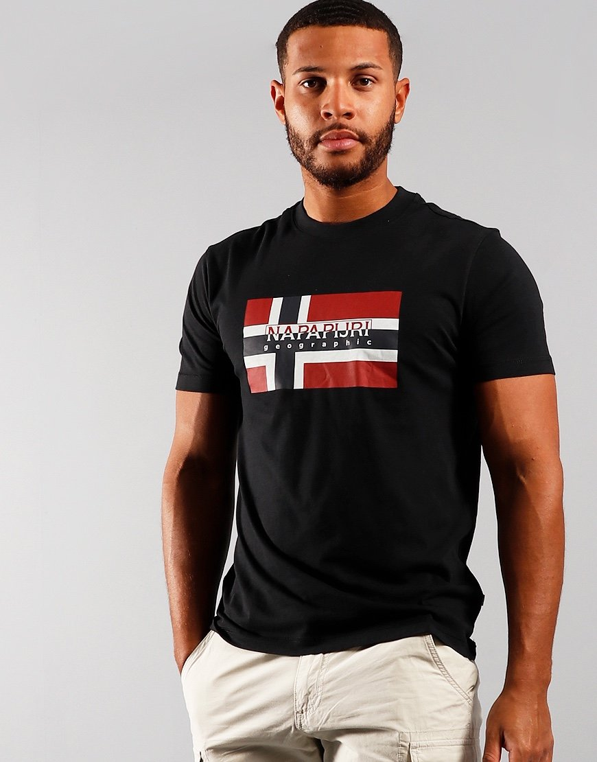 Napapijri Sovico T-shirt  Black