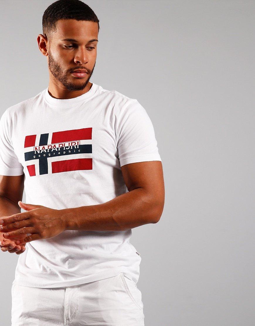 Napapijri Sovico T-shirt  Bright White