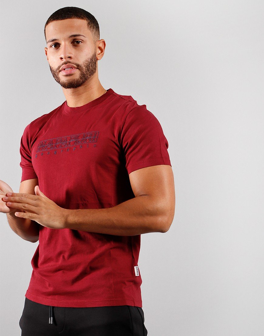 Napapijri Sebel T-Shirt Vintage Amaranth