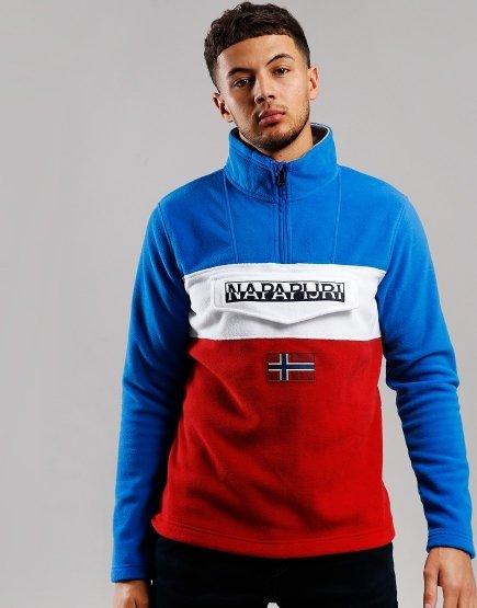 Napapijri Ted Half Zip Fleece Multicolour