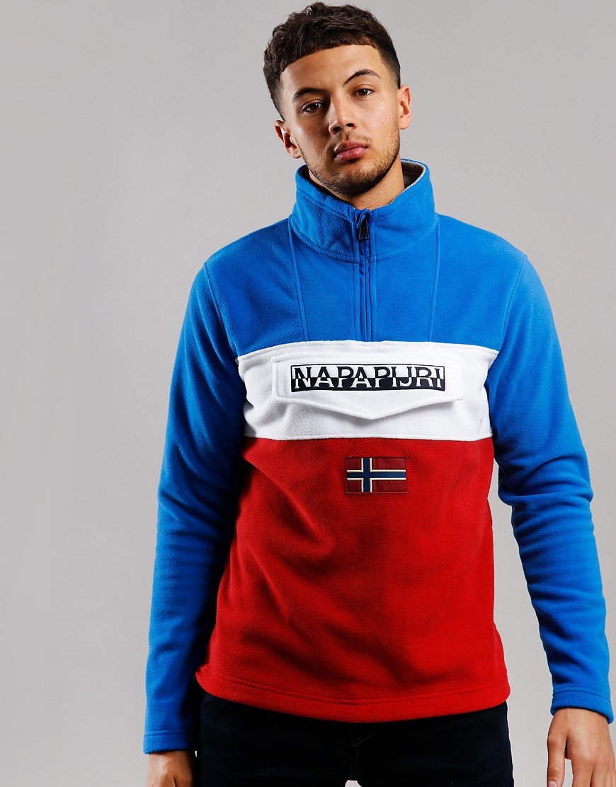 Napapijri Ted Half Zip Fleece Multicolour