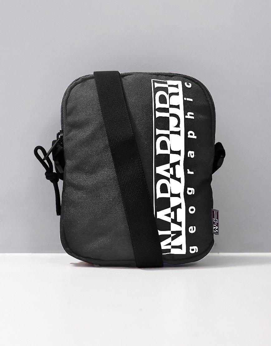 Napapijri Happy Cross Body Bag Small Dark Grey Solid