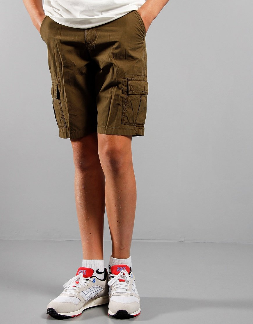 Napapijri Kids Noto Cargo Shorts Green Way