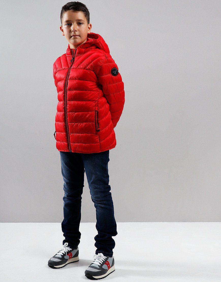 Napapijri Kids Aerons Jacket High Risk Red