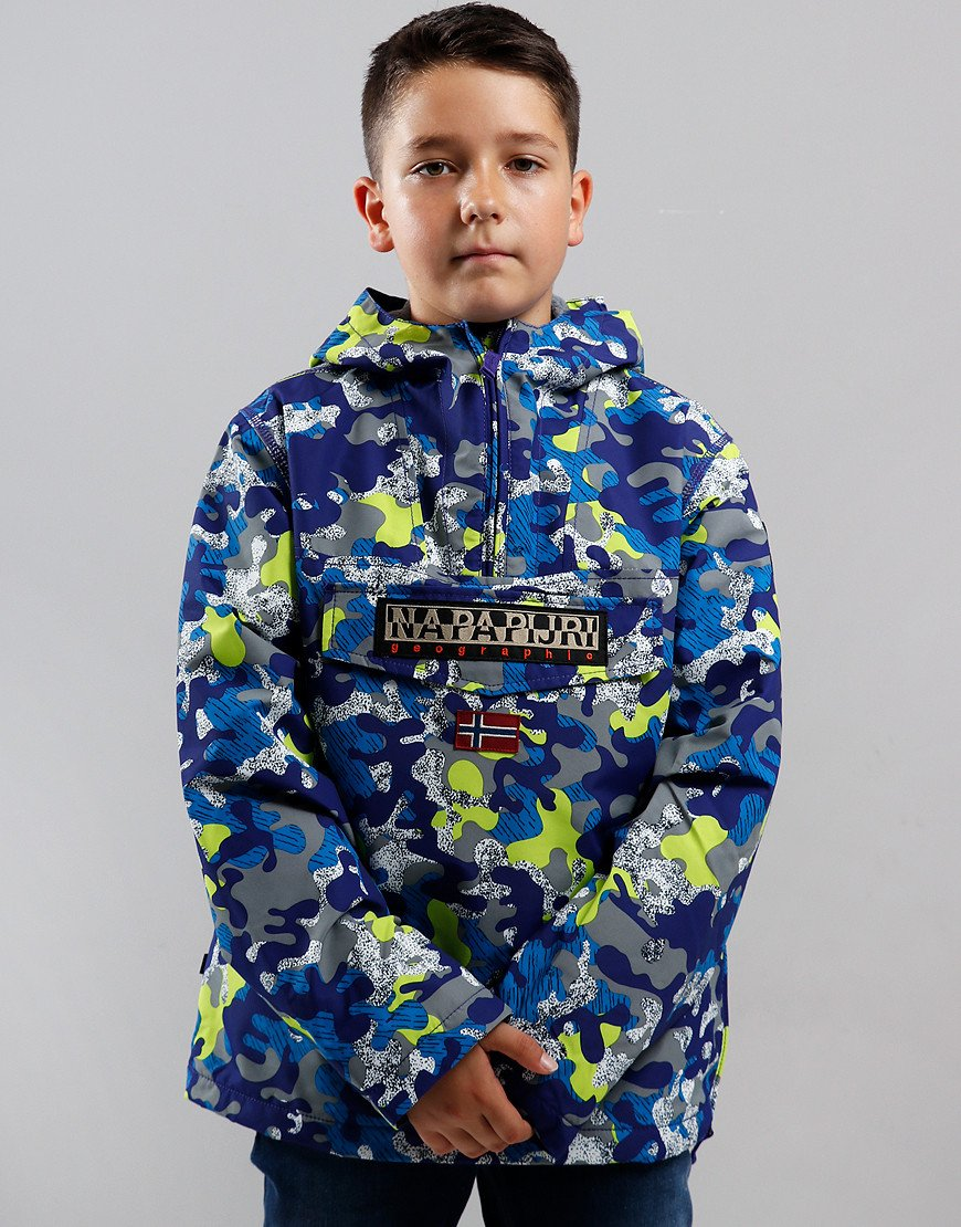 Napapijri Kids Rainforest Winter Jacket Purple Camo