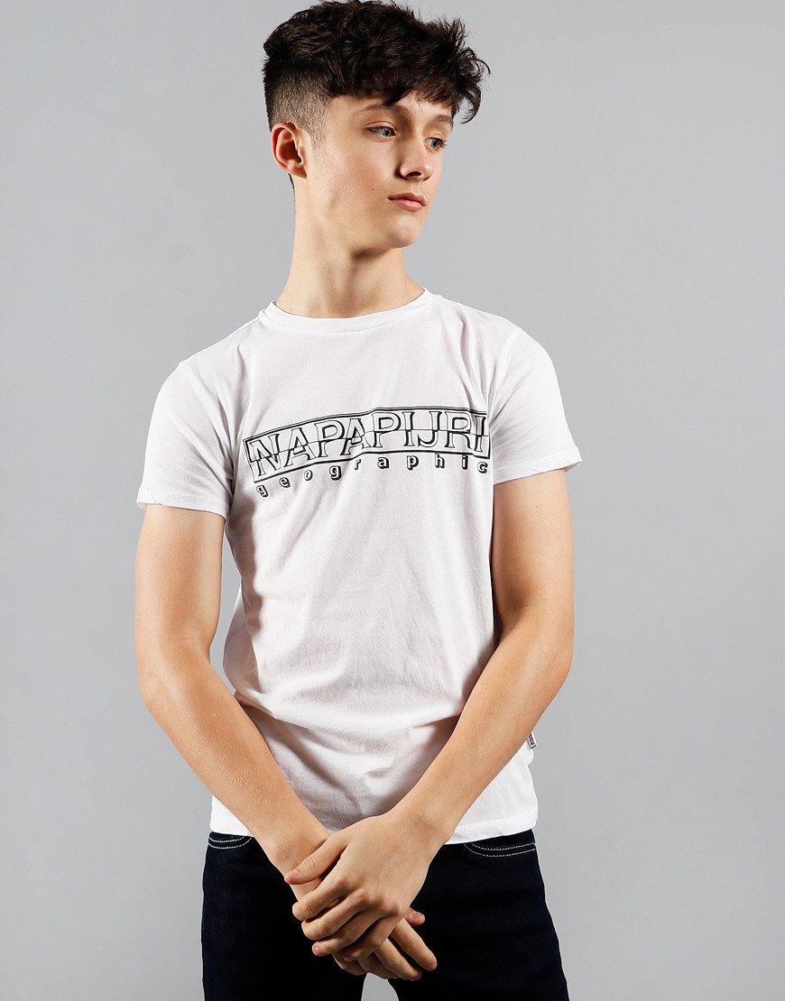 Napapijri Kids Soli T-Shirt Bright White