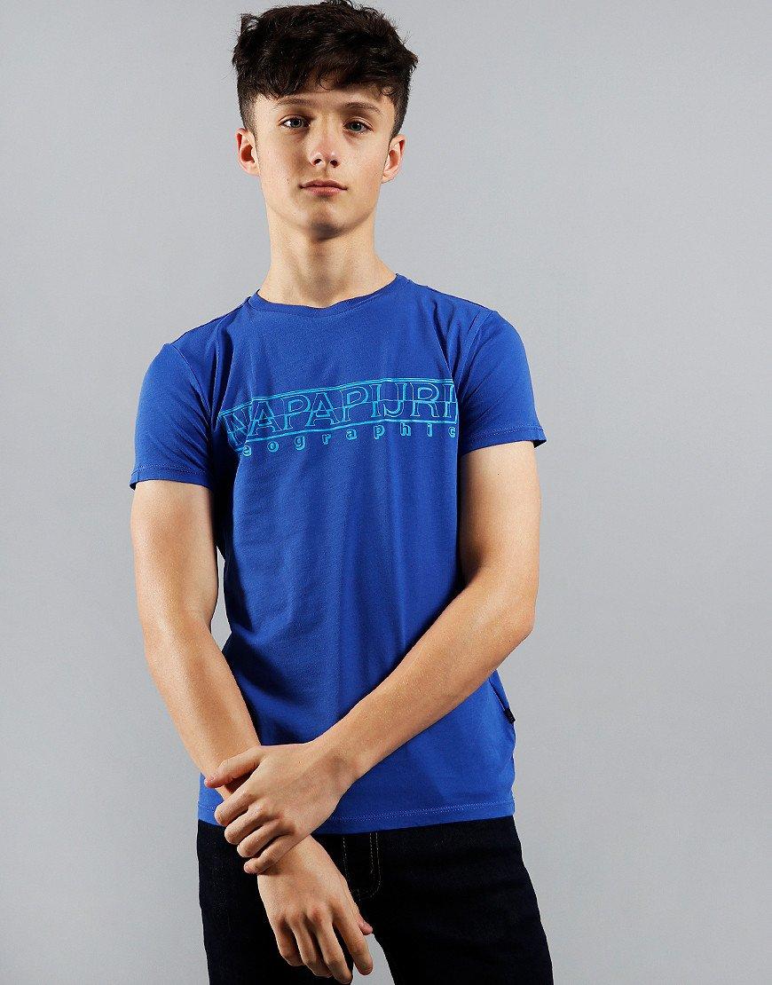 Napapijri Kids Soli T-Shirt Ultramarine Blue