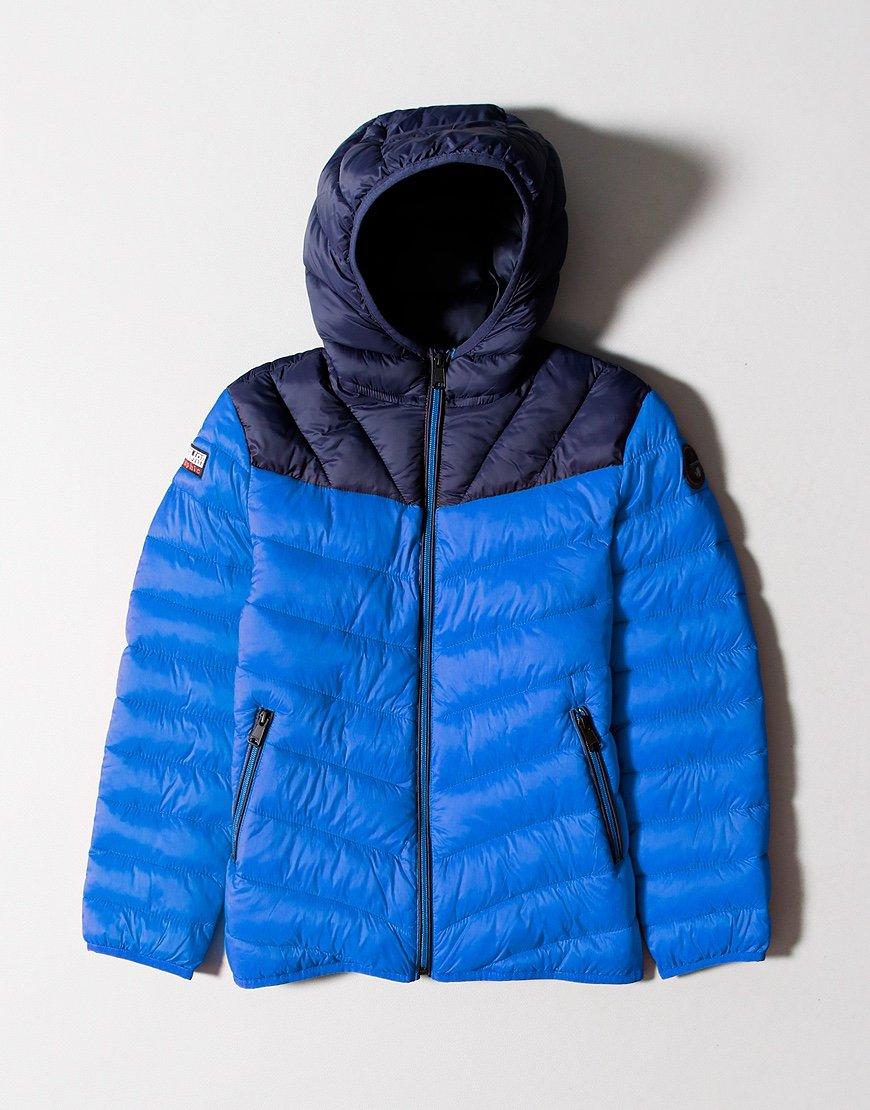 Napapijri Kids Aerons Jacket Blue Dazzling