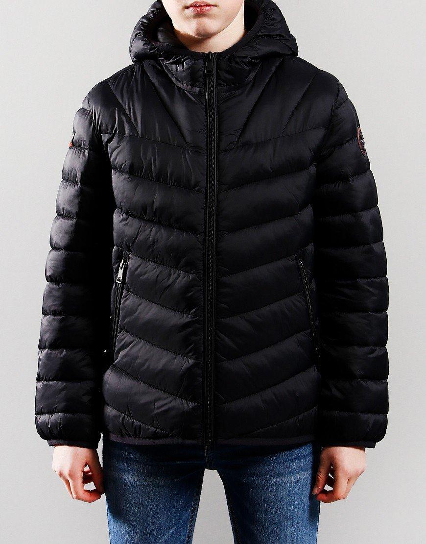 Napapijri Kids Aerons Hooded Jacket Black