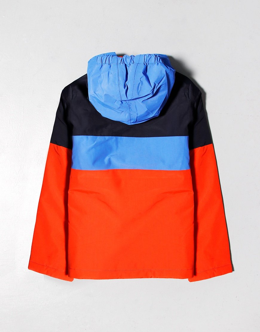 Napapijri Kids Rainforest Colour Block Jacket Orange Clay