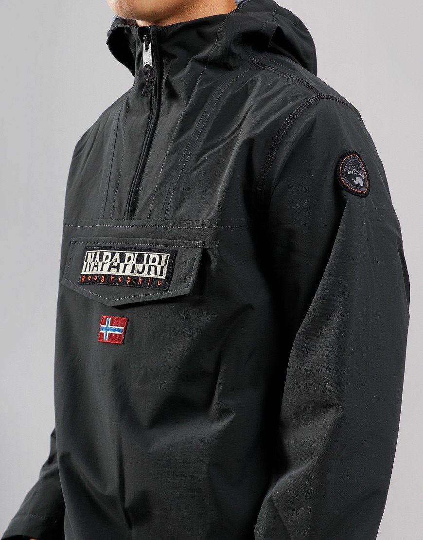 Napapijri Kids Rainforest Winter Jacket Dark Grey Solid