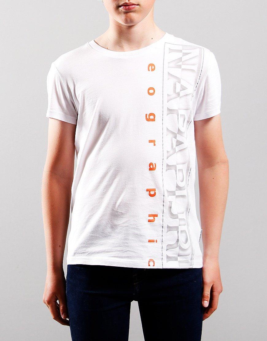 Napapijri Kids Sadyr T-Shirt Bright White