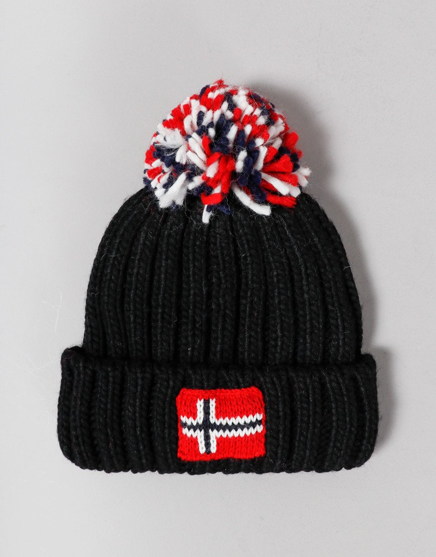 Napapijri Kids Semiury Bobble Hat Black