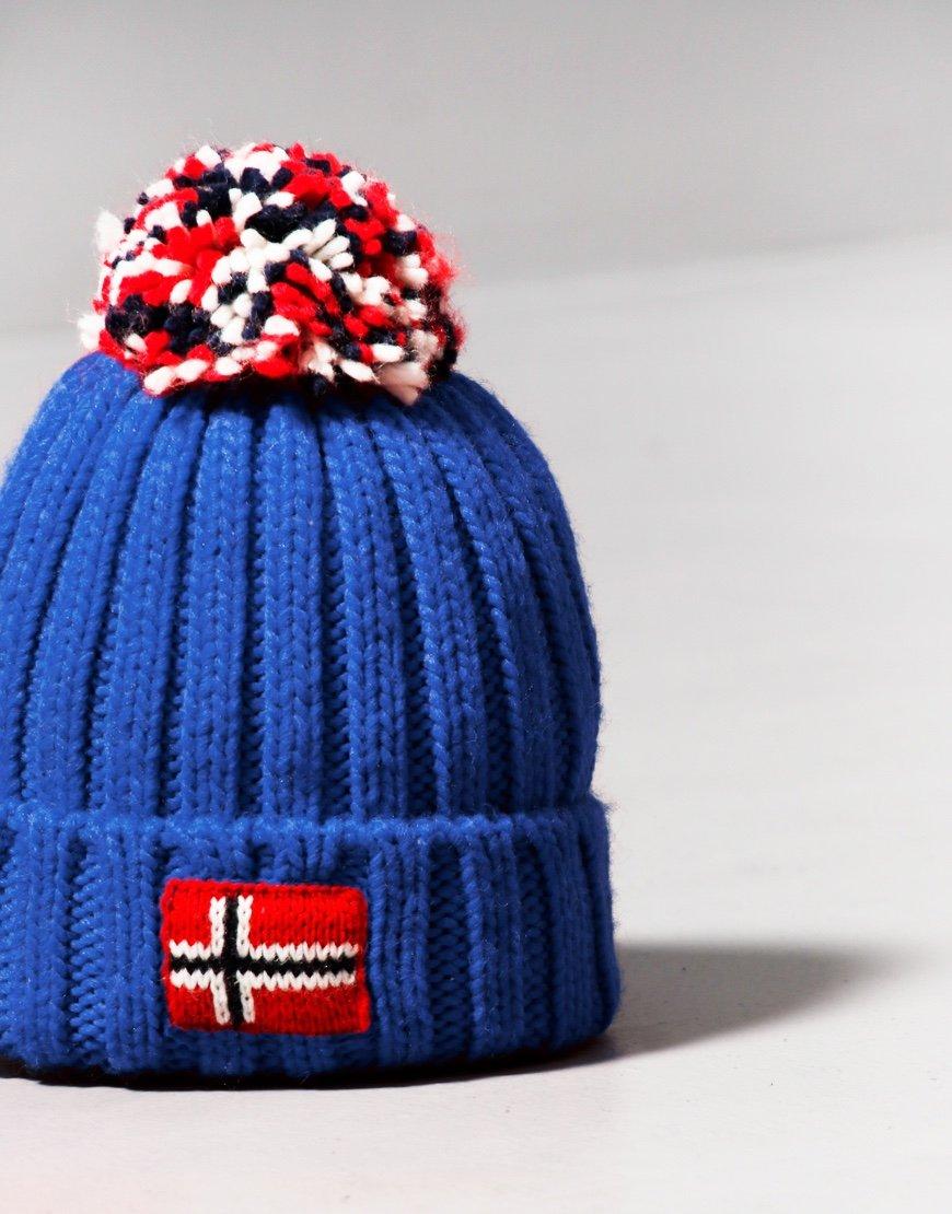 Napapijri Kids Semiury 4 Bobble Hat Dazzling Blue