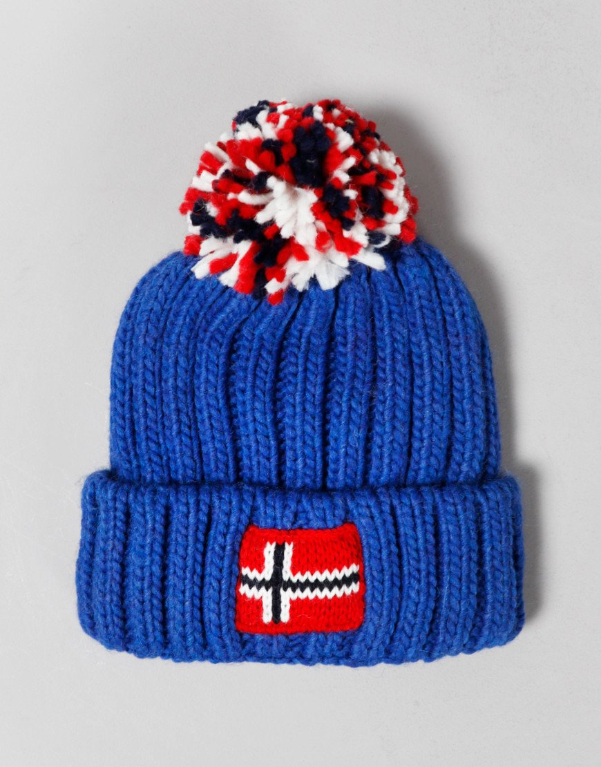 Napapijri Kids Semiury Bobble Hat French Blue