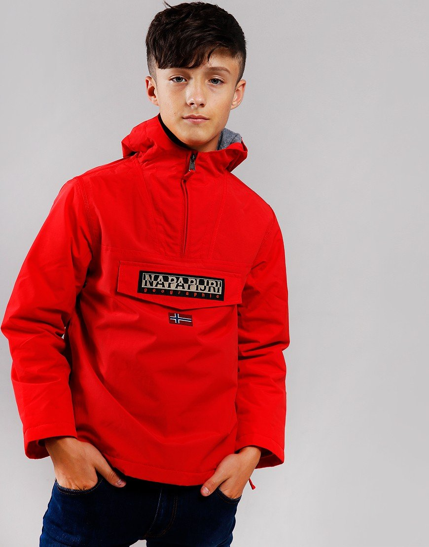 Napapijri Kids Rainforest Winter Jacket High Risk Red