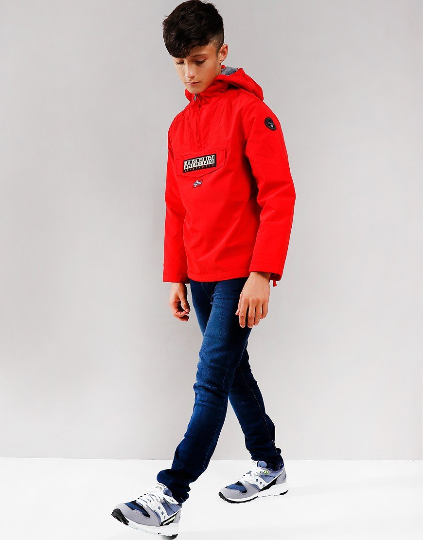Napapijri Kids Rainforest Winter Jacket High Risk Red