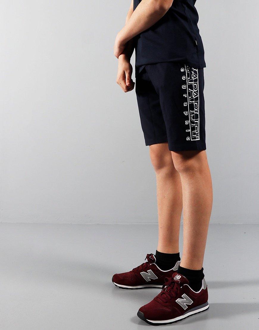 Napapijri Kids Noli Sweat Shorts Blu Marine