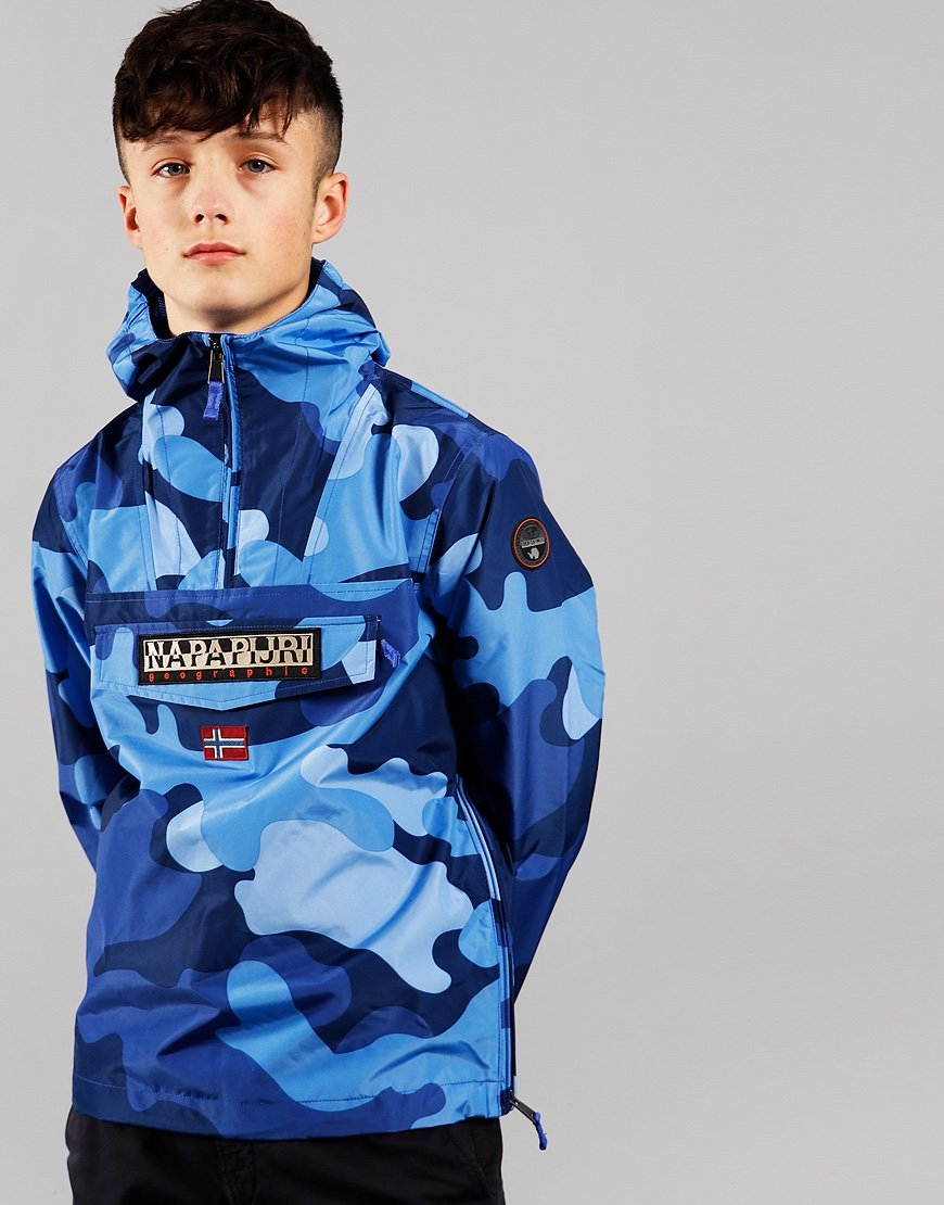 Napapijri Kids Rainforest Camou Blue Camo