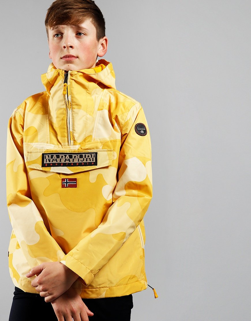 Napapijri Kids Rainforest Camou Yellow Camo