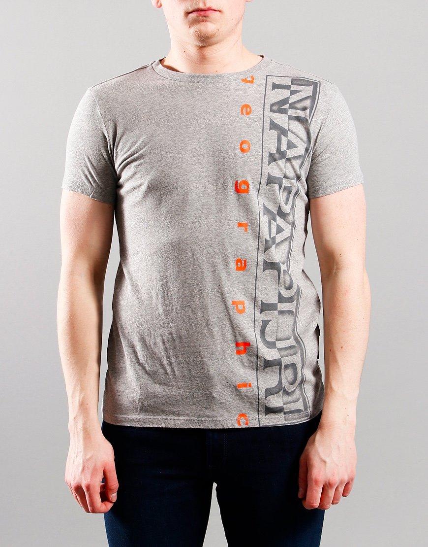 Napapijri Kids Sadyr T-Shirt Mid Grey Marl