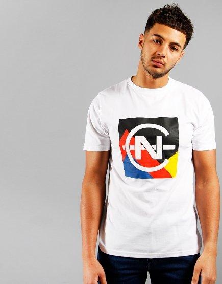 Nautica Debunk Print T-shirt White