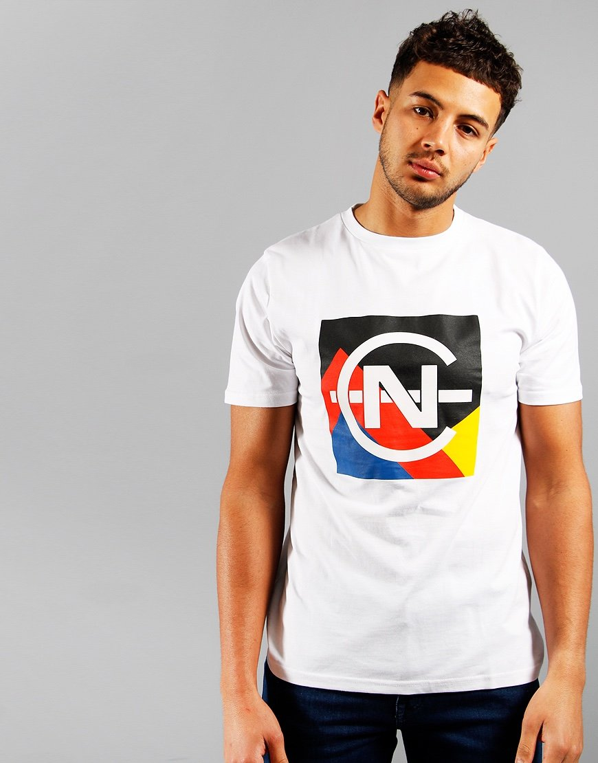 Nautica Competition Debunk Print T-shirt White