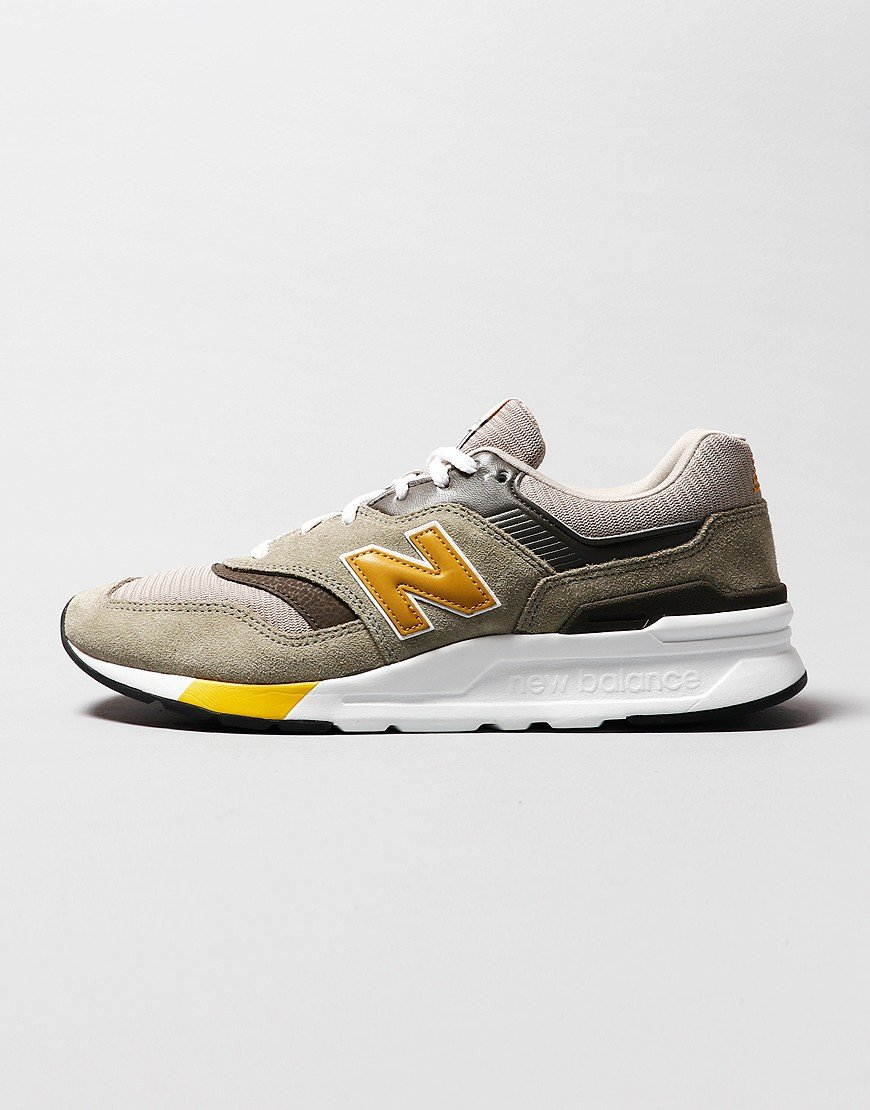 New Balance CM997HEZ Sneaker Covert Green/Gold