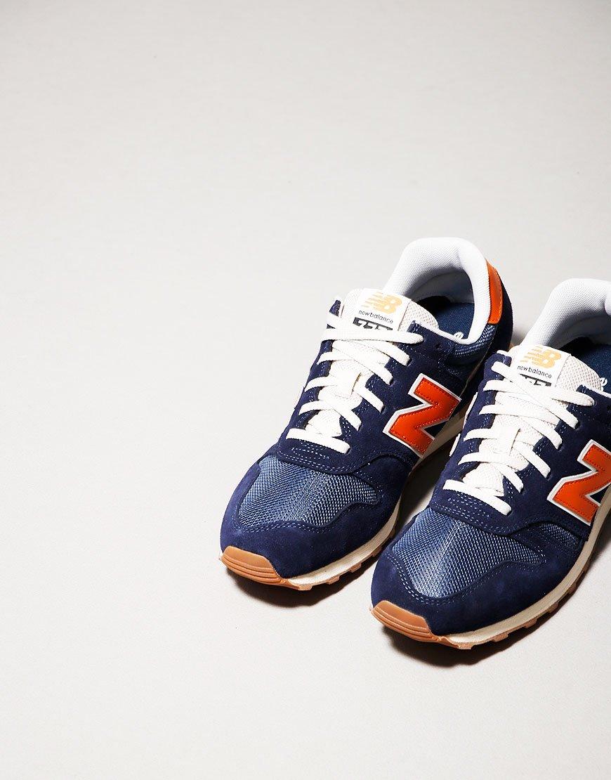 New Balance 373 Trainers Pigment/Vintage Orange