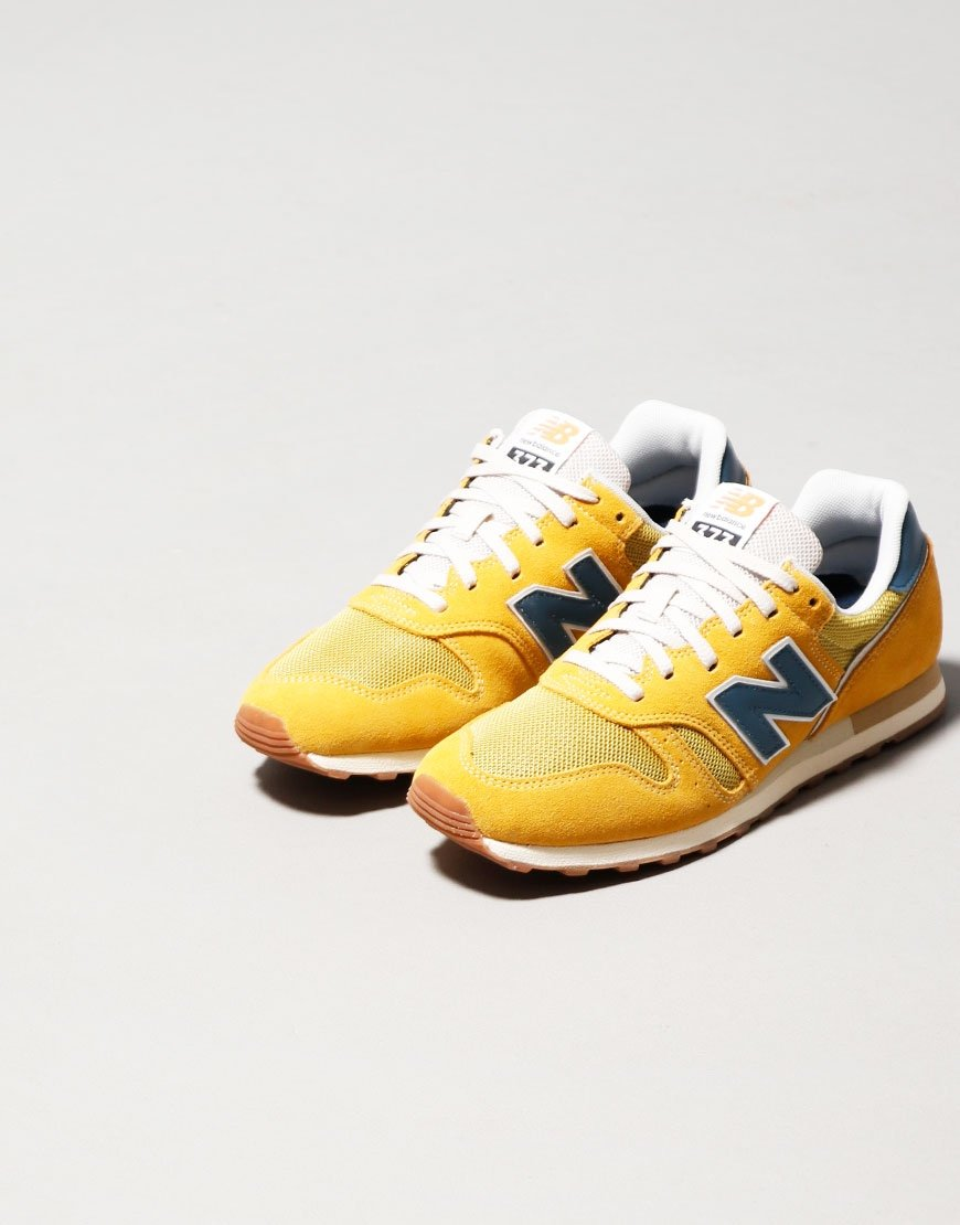 New Balance 373 Trainers Yellow/Blue