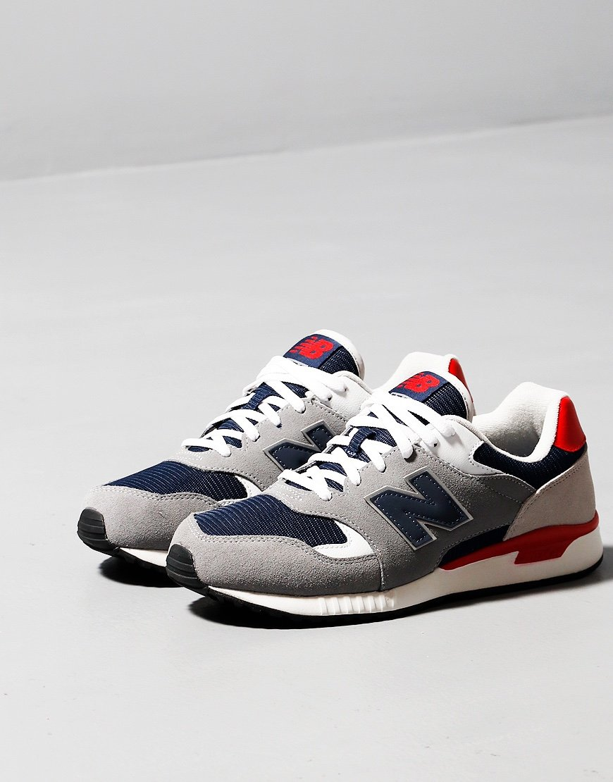 New Balance 570 Sneakers Gunmetal/Red