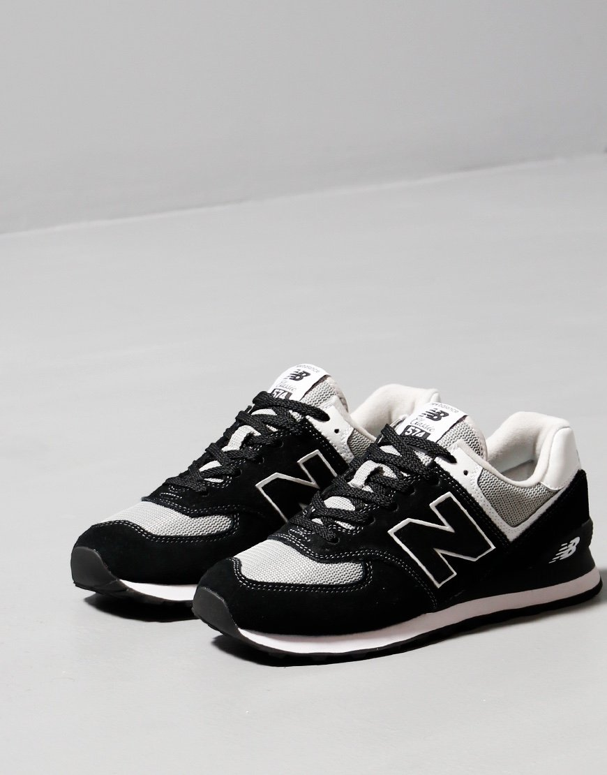 New Balance 574 Sneakers Black/White