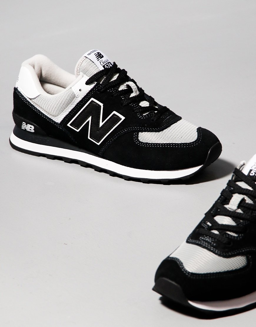 recoger eternamente Fobia  New Balance 574 Sneakers Black/White - Terraces Menswear