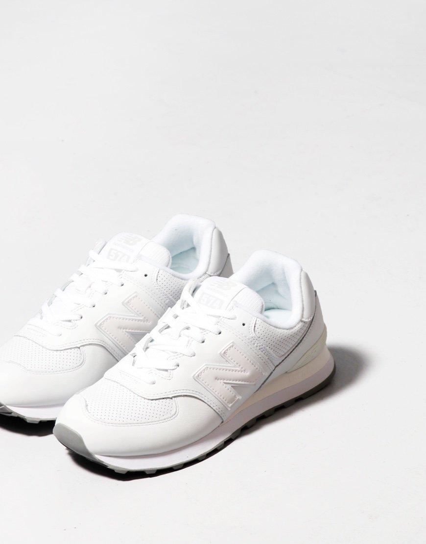 New Balance 574 Sneakers White/White