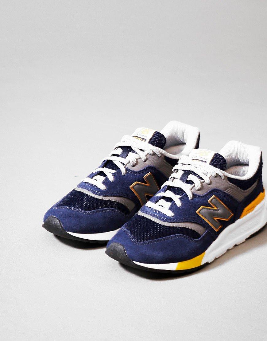 New Balance 997H Trainers Black/Varsity Gold