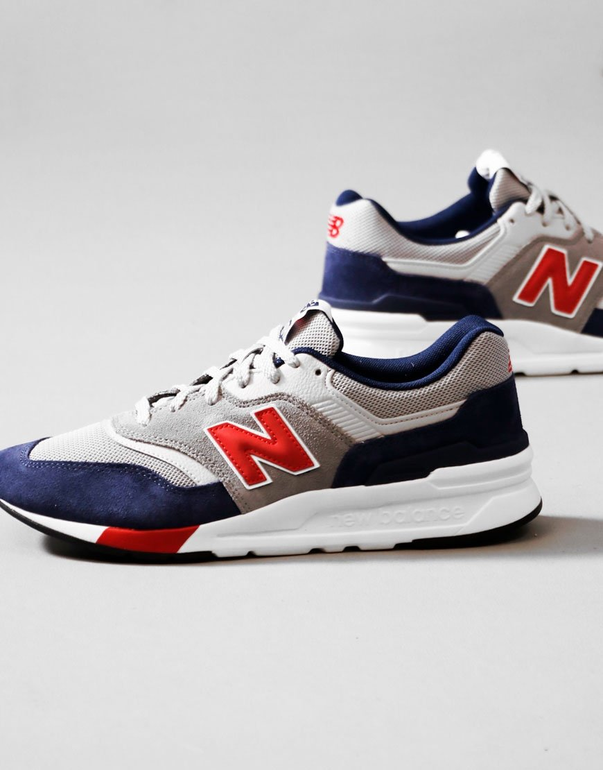 New Balance 997H Trainers Red/Pigment