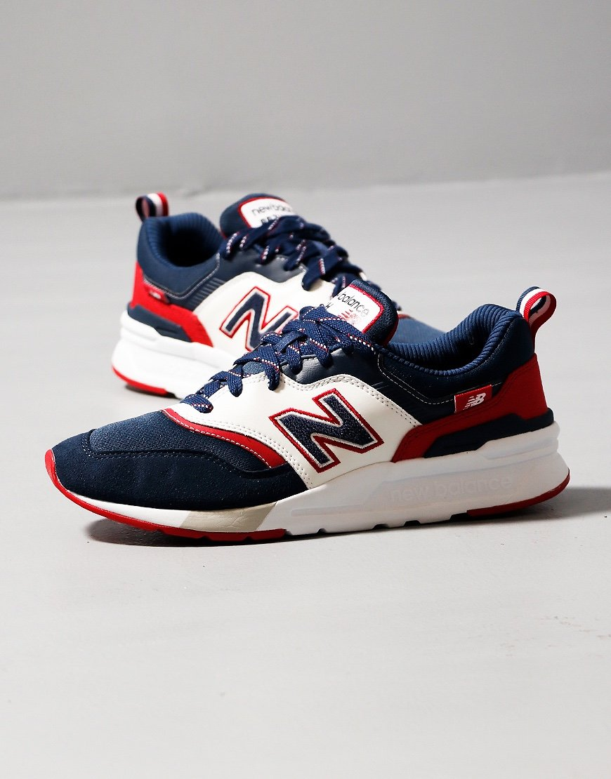 New Balance 997H Sneakers Indigo/Neo Crimson