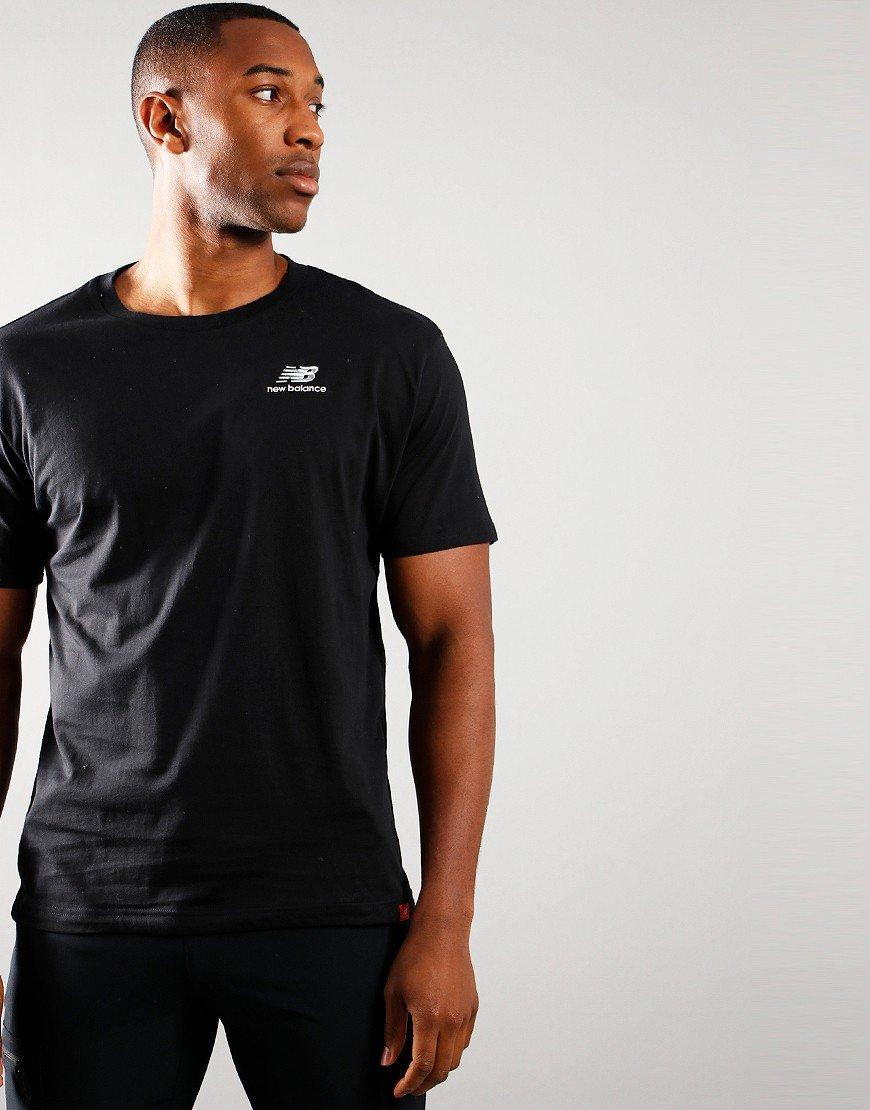 New Balance Embroidered T-Shirt Black
