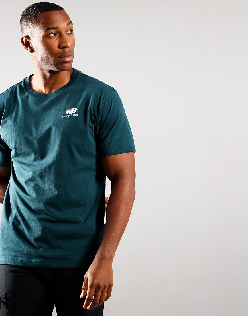 New Balance Embroidered T-Shirt Teal