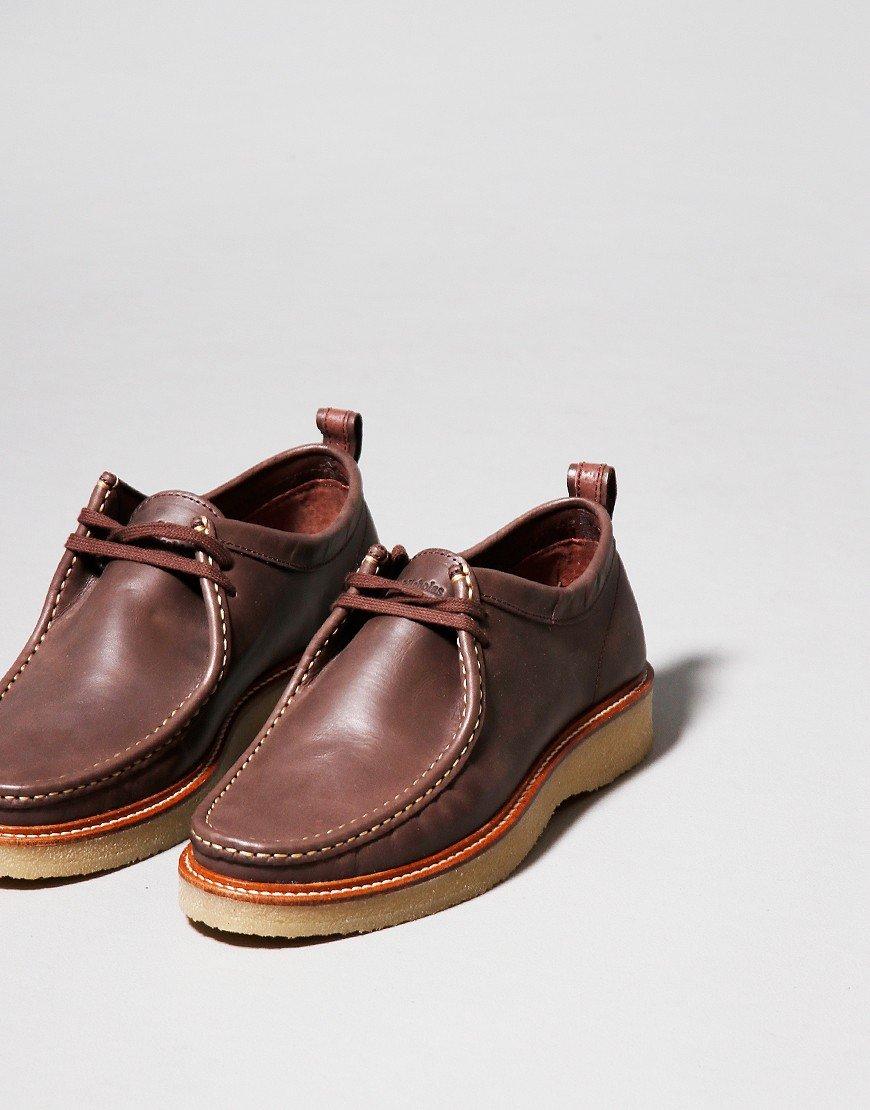 Nicholas Deakins Bowling Shoe Brown Leather