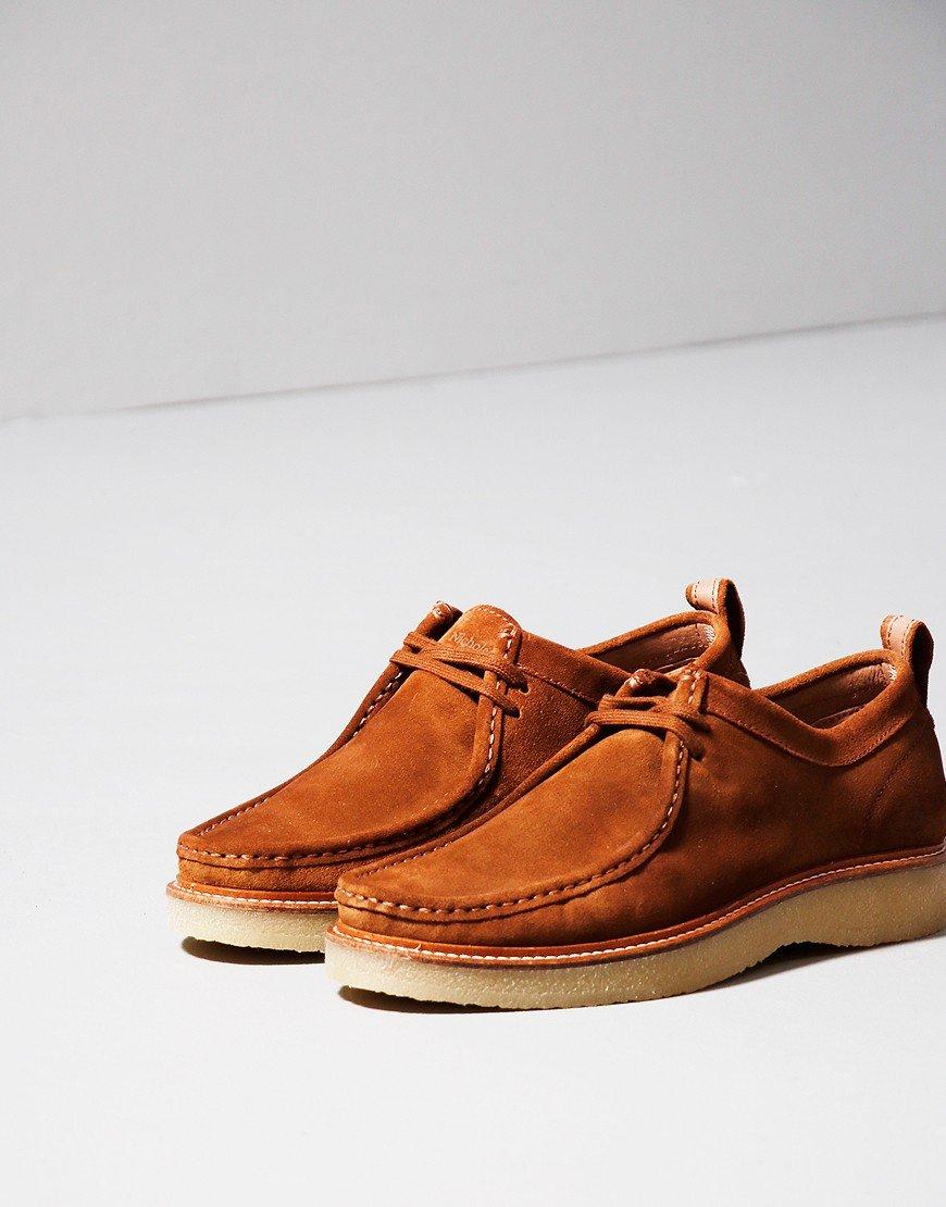 Nicholas Deakins Bowling Shoe Tan Suede