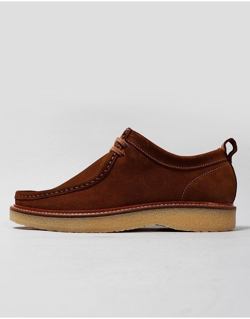 Nicholas Deakins Bowling Shoes Tan