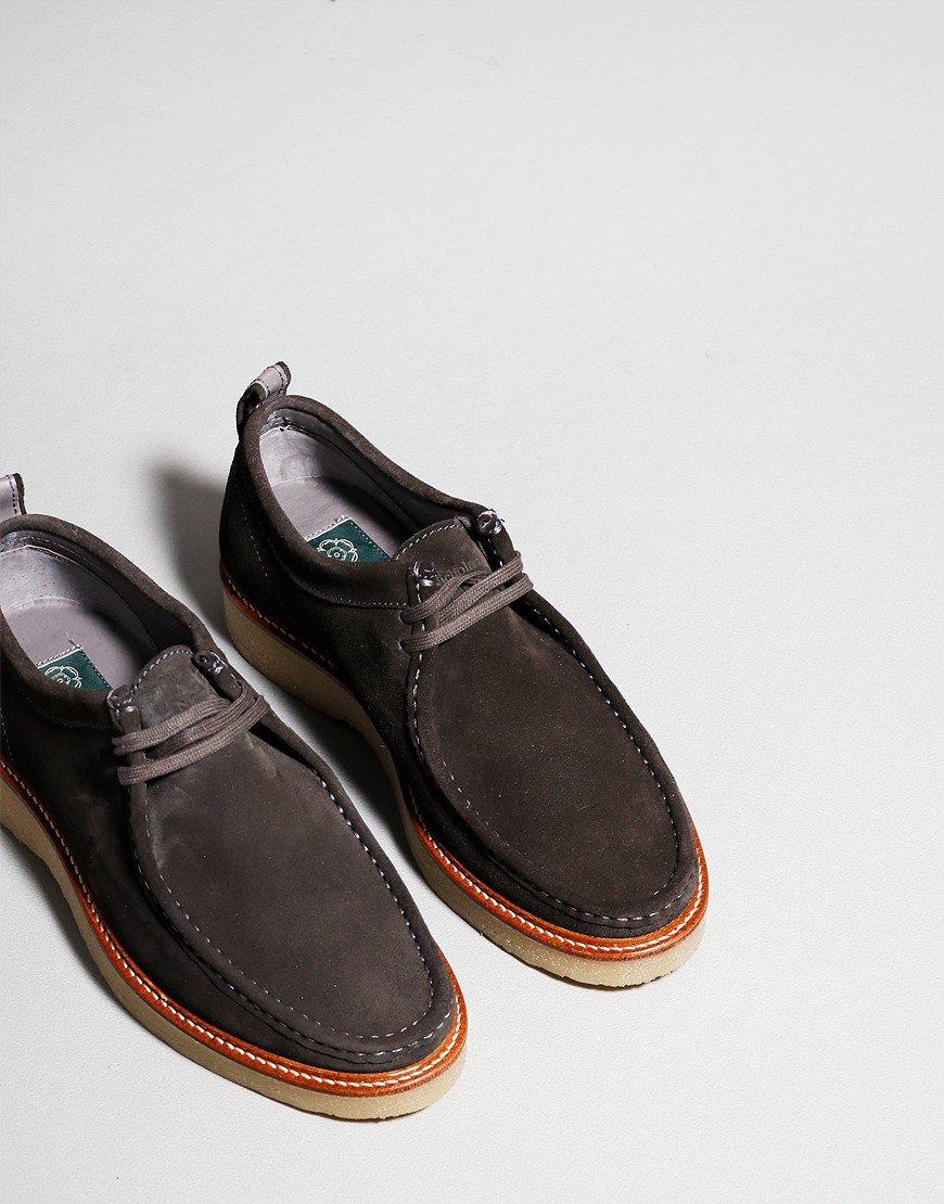 Nicholas Deakins Bowling Shoe Grey Suede