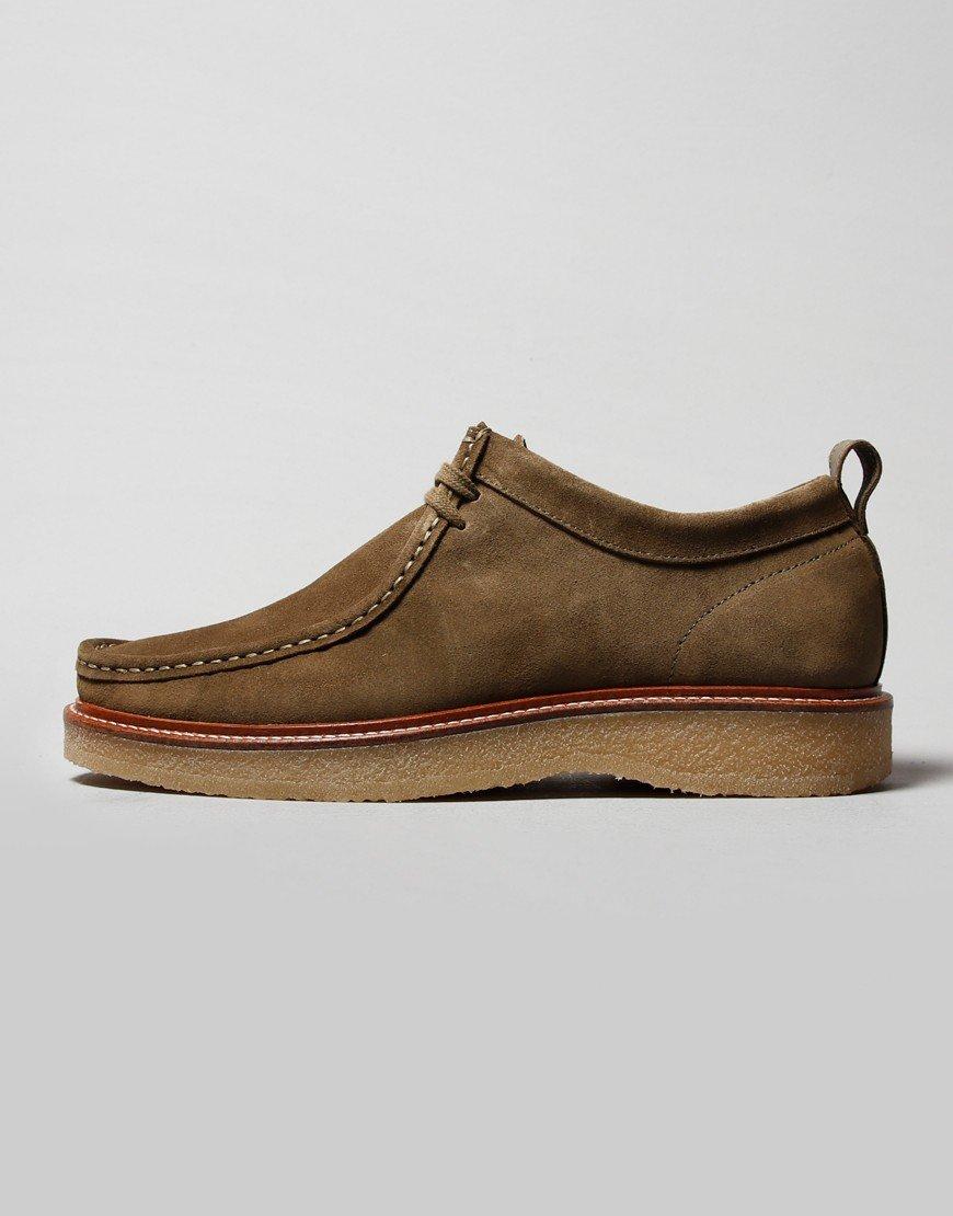 Nicholas Deakins Bowling Shoe Khaki