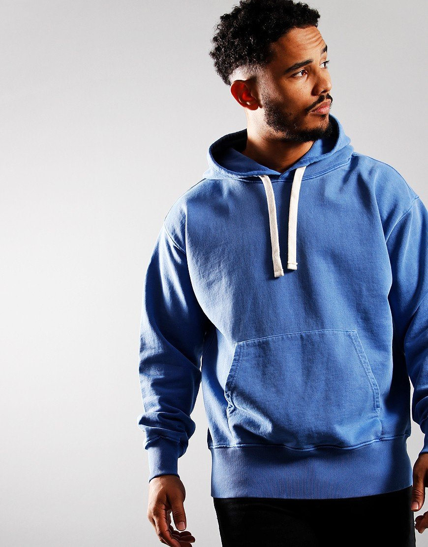 Nigel Cabourn Arrow Hoodie Washed Blue