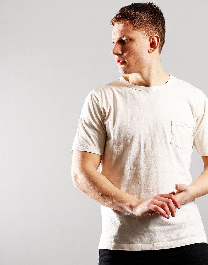 Nigel Cabourn Crew T-Shirt Natural