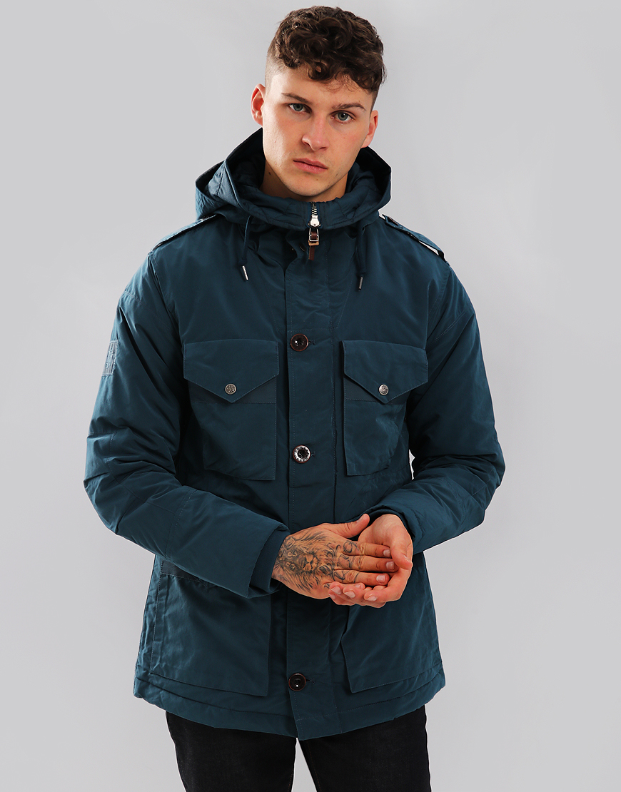 Pretty Green Nightan Jacket Navy Blue