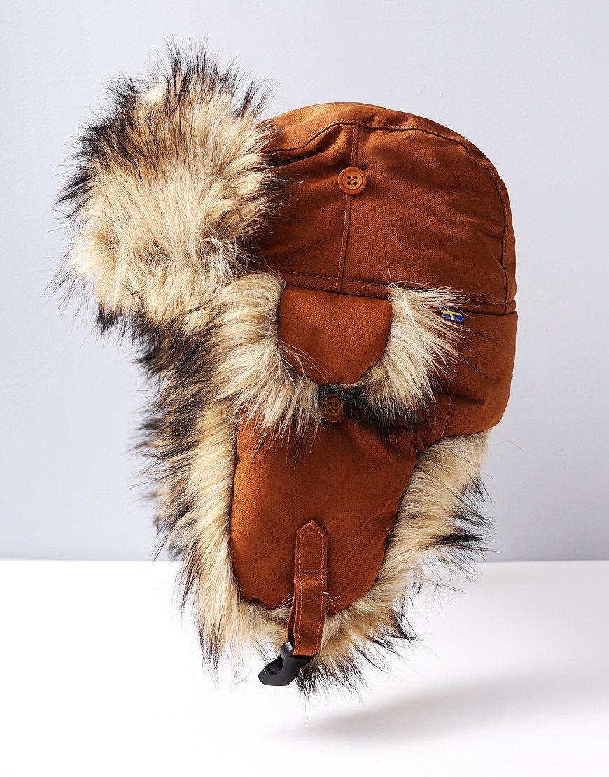 Fjällräven Nordic Heater Trapper Hat Chestnut