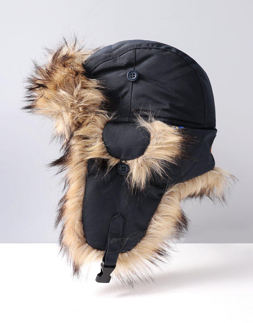 Fjällräven Nordic Heater Trapper Hat Dark Navy