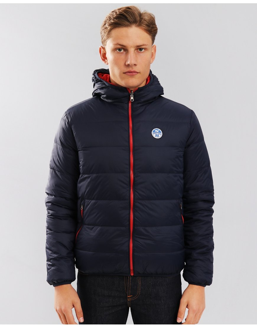 North Sails Reversible Padded Jacket Navy